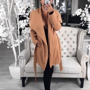 Jackets & Blazers - Tan Coat